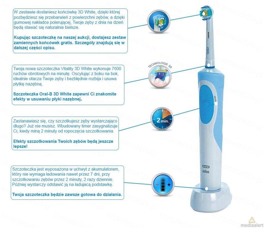 Oral B Vitality Star Wars Piórnik Elektryczne Szczoteczki Do