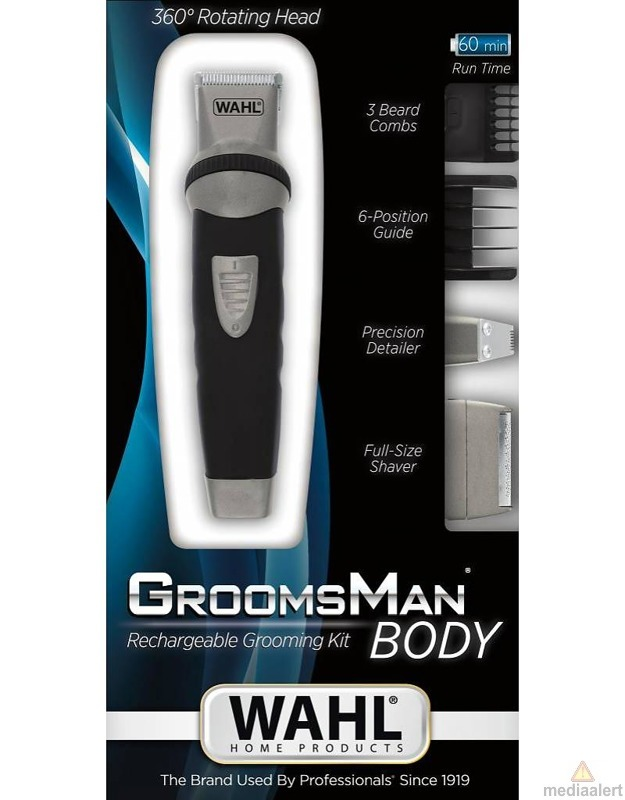 Trymer Wahl 9953 1016 Groomsman Body Trimmer